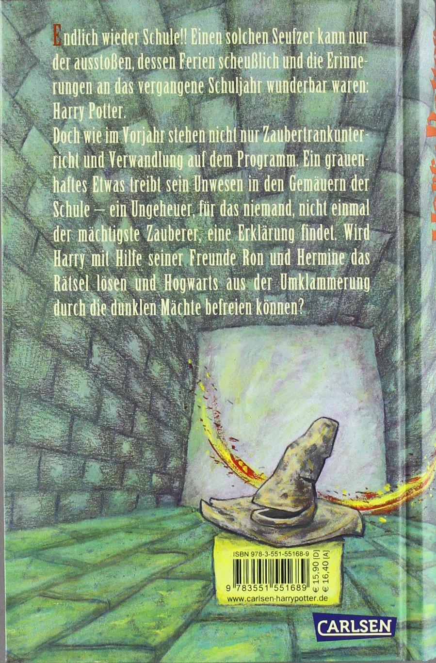 Harry potter und die kammer des schreckens j k rowling klaus harry potter und die kammer des schreckens j k rowling klaus fritz 9783551551689 amazon books fandeluxe Images