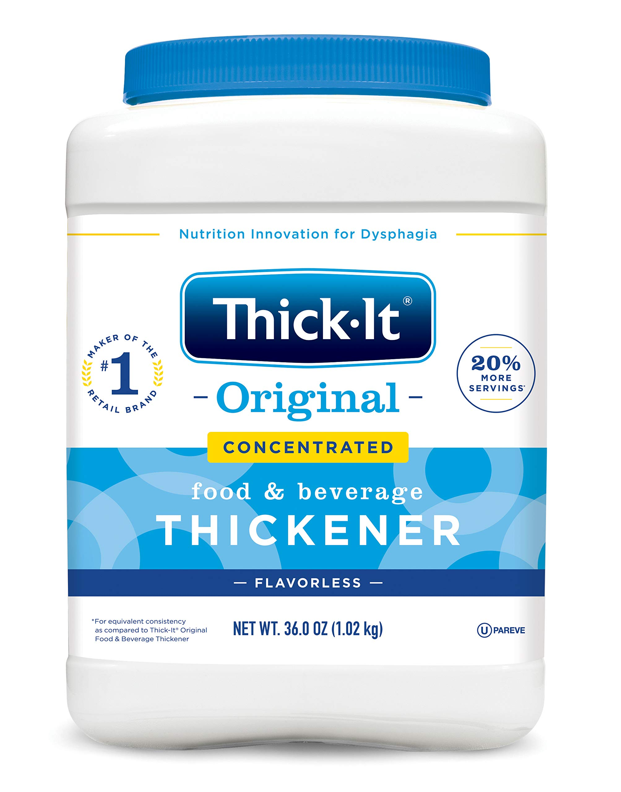 Thick-It 2 Instant Food Beverage, Concentrated, 36 Ounce by THICK-IT