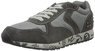 XTI 40097 Mens Low-Top Sneakers Grey - Grau (Gris) 8 UK