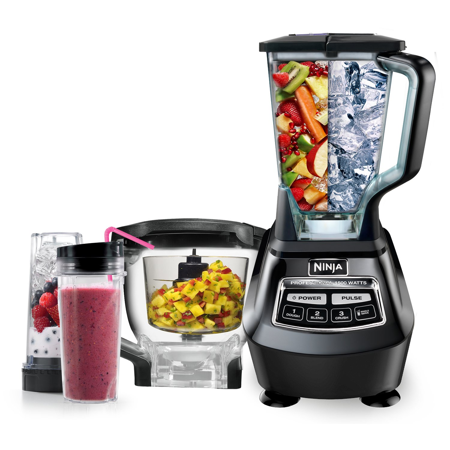 amazoncom ninja mega kitchen system bl771 electric countertop blenders kitchen dining - Ninja Kitchen System