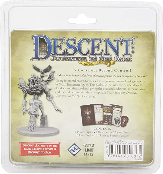 Descent: Journeys in the Dark 2nd Edition Lieutenant Pack: Skarn: Amazon.es: Juguetes y juegos