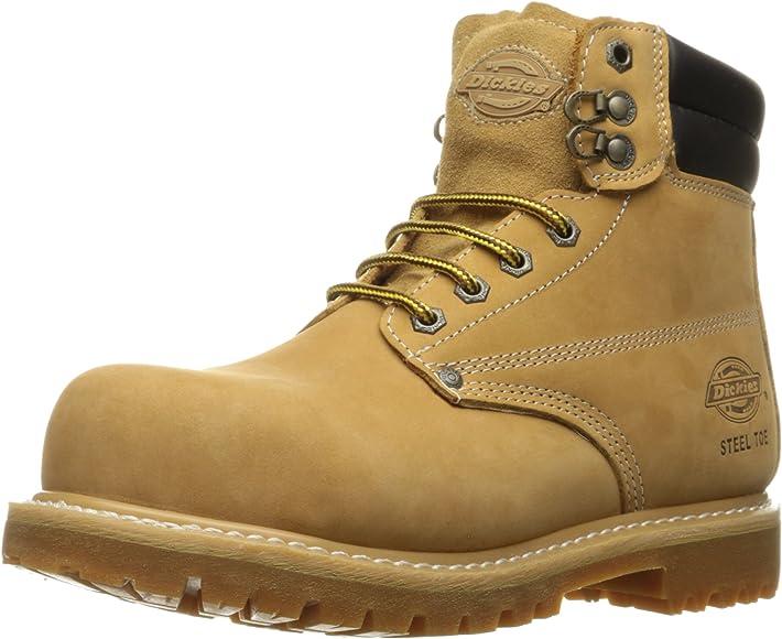 Raider Steel-Toed Work Boot, Wheat