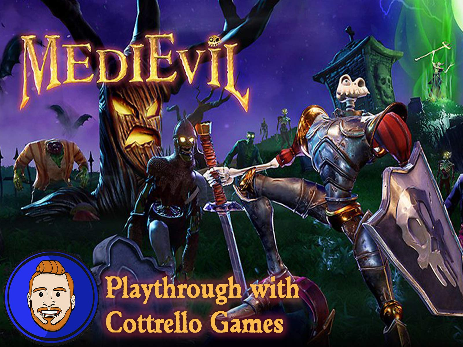 MediEvil Playthrough with Cottrello Games