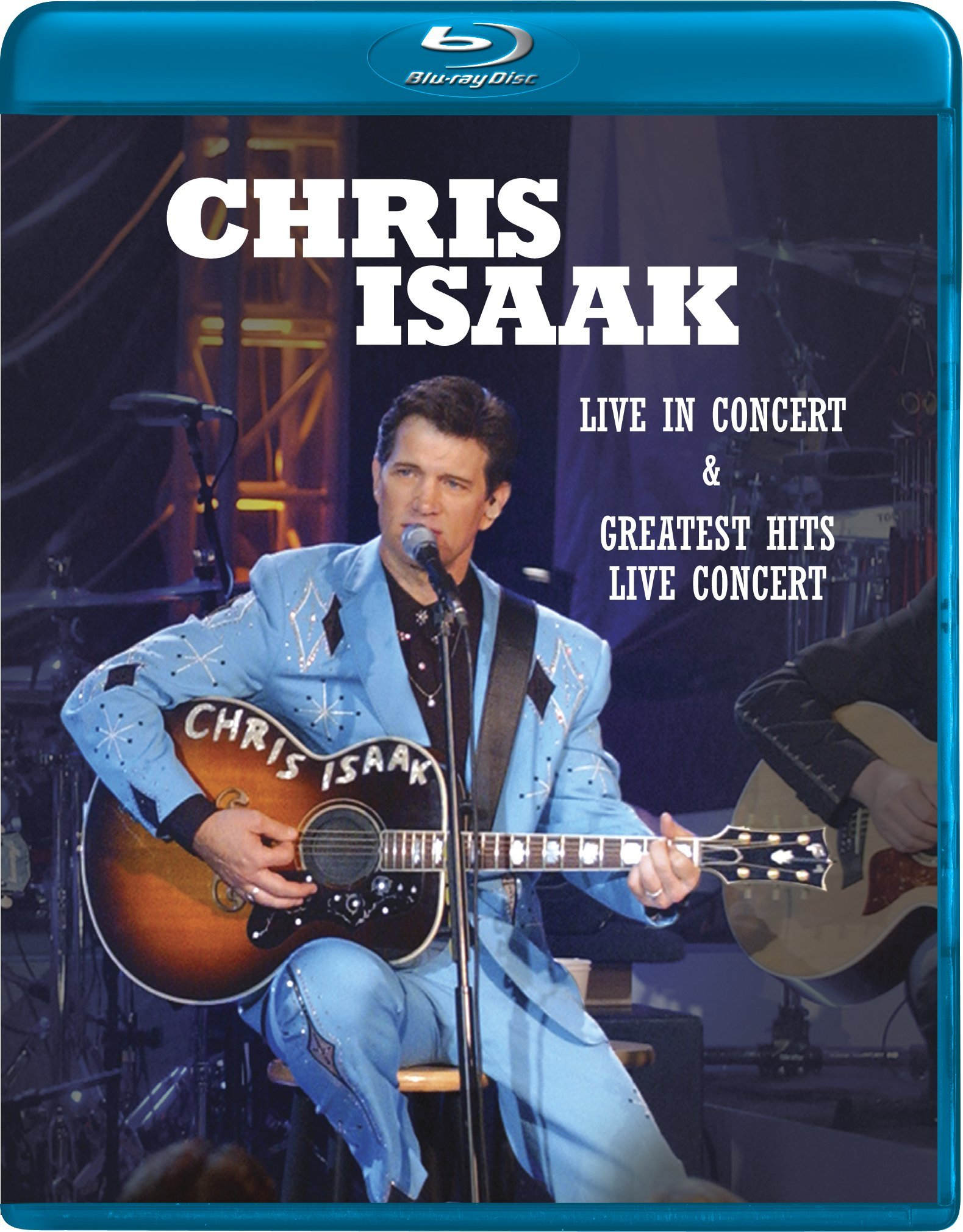 Chris Isaak: Live / Greatest Hits: Live [Blu-ray] by Image Entertainment
