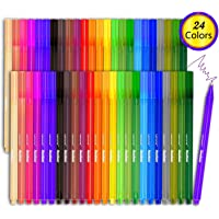 Lemome 24 Colored Fineliner Color Pen Set