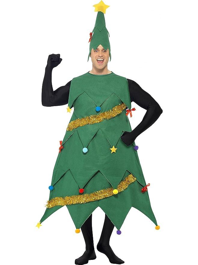 Smiffys Disfraz de árbol de Navidad de lujo para adultos: Amazon ...
