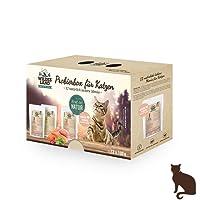 Wildes Land   Nassfutter für Katzen   Getreidefrei   Extra Viel Fleisch Akzeptanz und Verträglichkeit   Rohstoffe aus der Lebensmittelproduktion