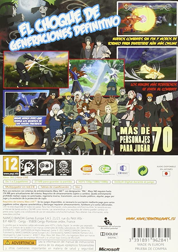 Naruto Shippuden: Ultimate Ninja Storm Generations: Amazon ...