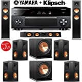 Klipsch RP-260F 7.1 Reference Premiere Home Theater System with Yamaha RX-A1060BL 7.2-Ch Network A/V Receiver