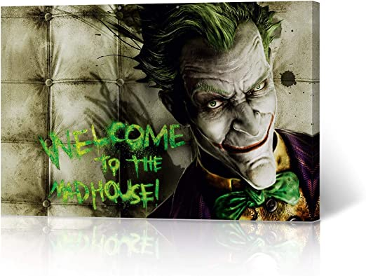 print The Joker inspired posters wallart prints gift poster quote