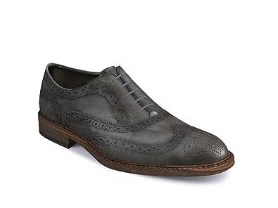 mesure Homme Chaussures brgue Oxford DIS sur gris Deco aile BpWAxPZ