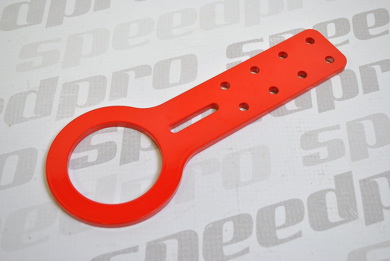 Rosso auto frontale in alluminio Gancio di traino anello di traino/anello/Eye/loop JDM/Racing –  Speedpro