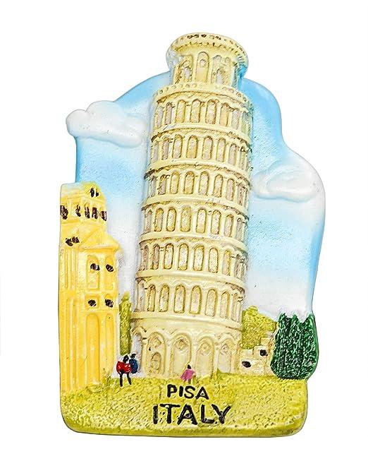 zamonji Torre Inclinada de Pisa Italia 3D Imanes para Refrigerador ...