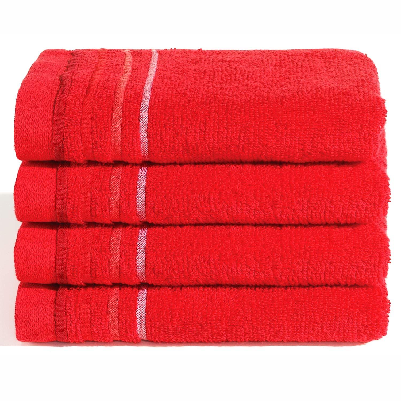 absorbentes gris lavables WohnDirect Juego de mullidas toallas y manoplas para ba/ño secado r/ápido 2 Badet/ücher