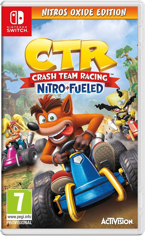 Crash Team Racing Nitro-Fueled - Nitros Oxide Edition (PS4