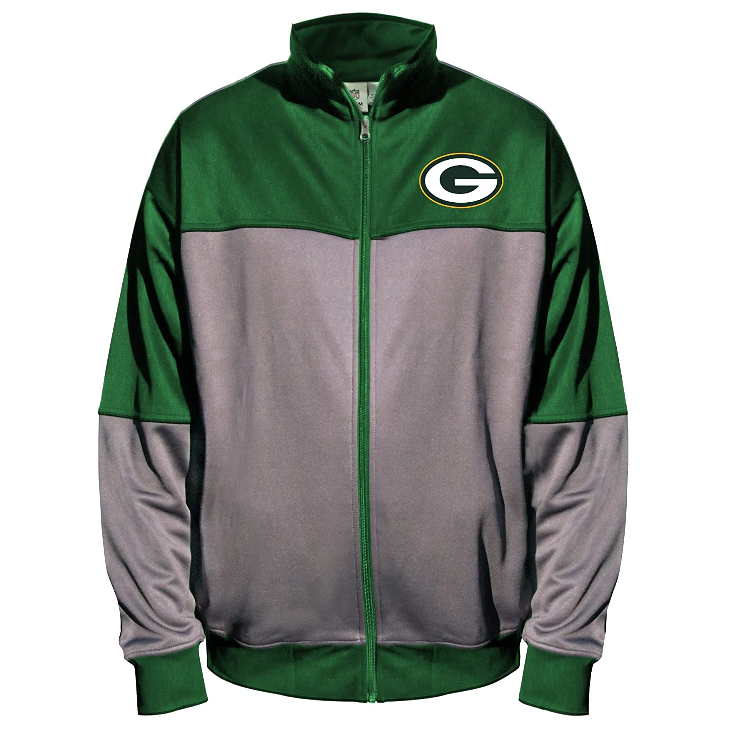 innovative design a90ab 9ad01 NFL Green Bay Packers Unisex Poly Fleece Track Jacket