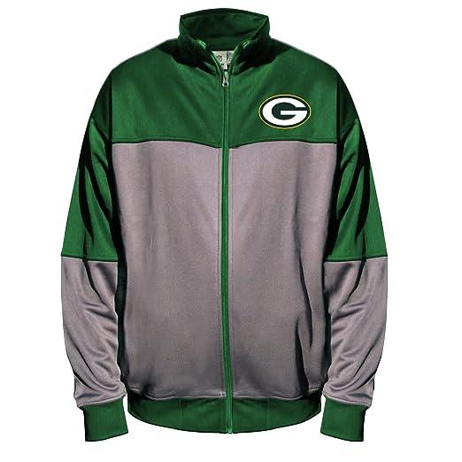 innovative design 9d8e0 8a339 NFL Green Bay Packers Unisex Poly Fleece Track Jacket