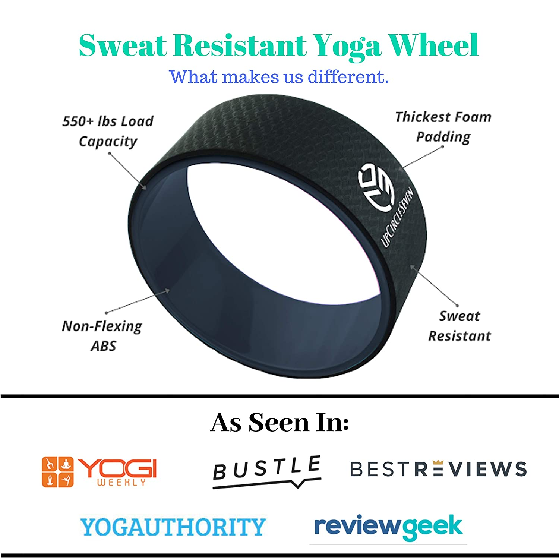 UpCircleSeven Rueda de yoga - [Serie Pro] más fuerte y más ...
