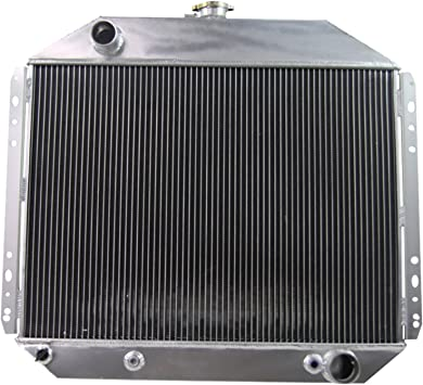 4 Row Aluminum Radiator For 1966-79 Ford F-150 F-250 F-350 Pickup Truck/&Bronco