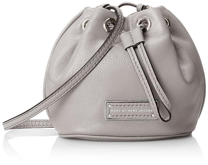 b6a2c5d0a215 Amazon.com  Marc by Marc Jacobs Too Hot To Handle Mini Drawstring Cross  Body Bag