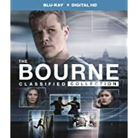 The Bourne Classified 4-Movie Collection (Blu-ray + Digital HD) (The Bourne Identity, The Bourne Supremacy, The Bourne Ultimatum, The Bourne Legacy)
