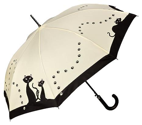 """VON LILIENFELD Paraguas automático con motivo """"Gatos ..."""