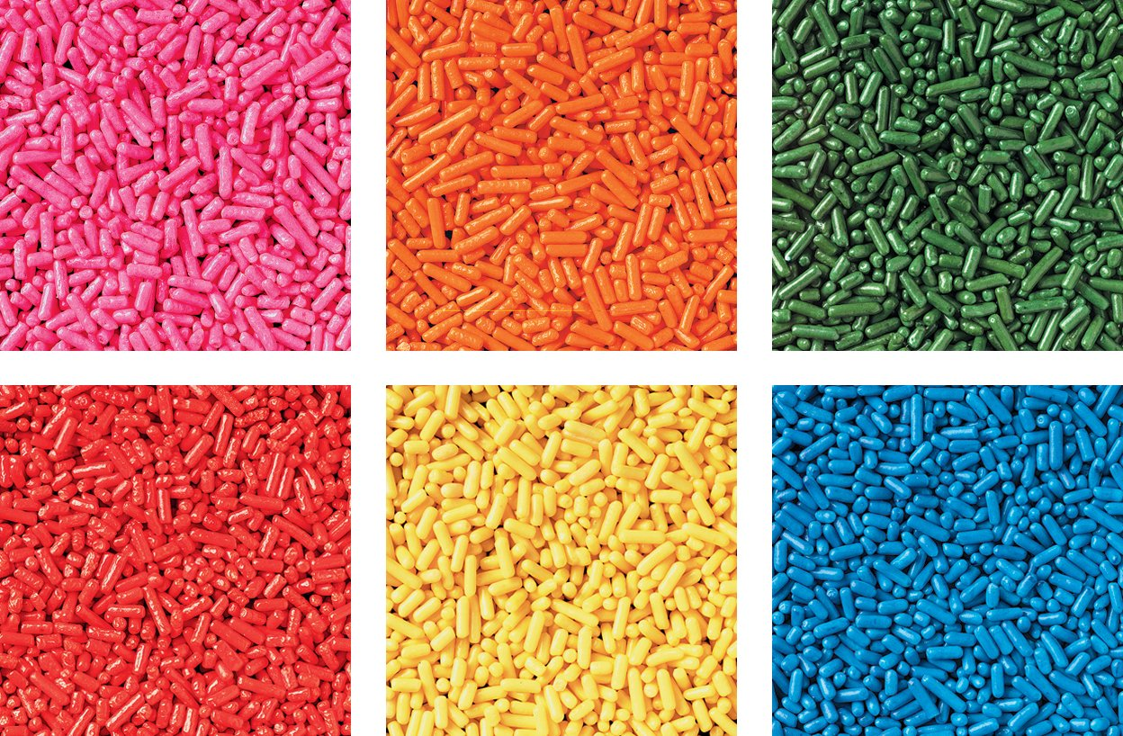 Wilton Jimmies 6 Mix Sprinkle Assortment