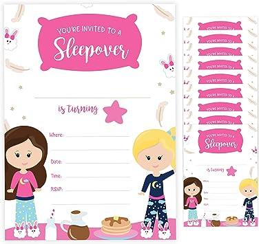 Amazon.com: Tarjeta de invitación de cumpleaños con sobres ...