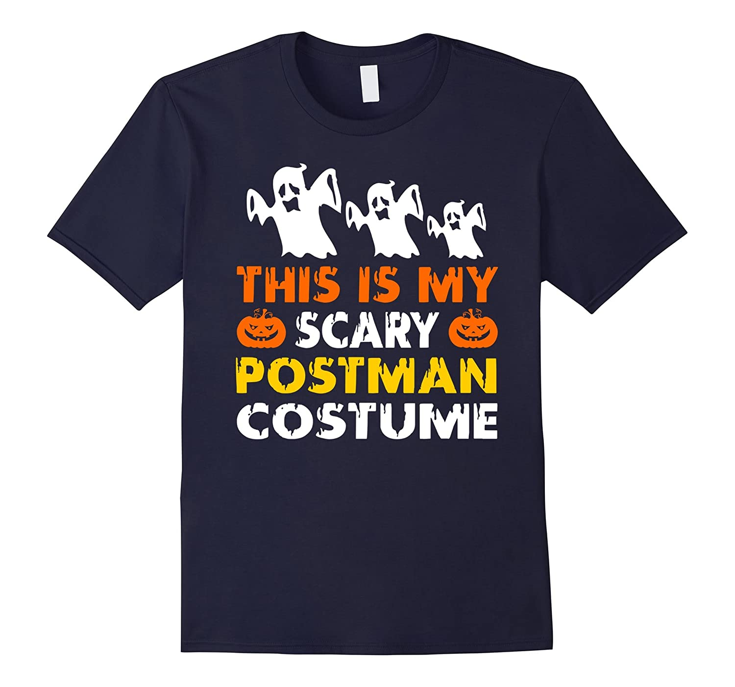 This is My Scary Postman Costume Halloween shirt-PL