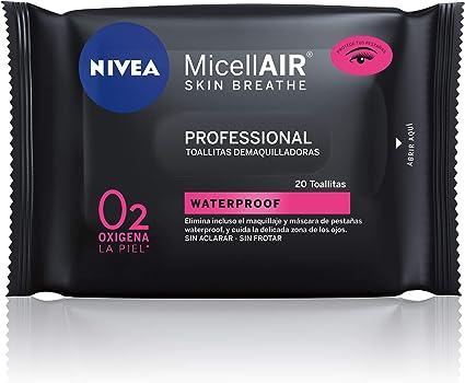 NIVEA MicellAIR Professional Toallitas Desmaquilladoras, toallitas ...