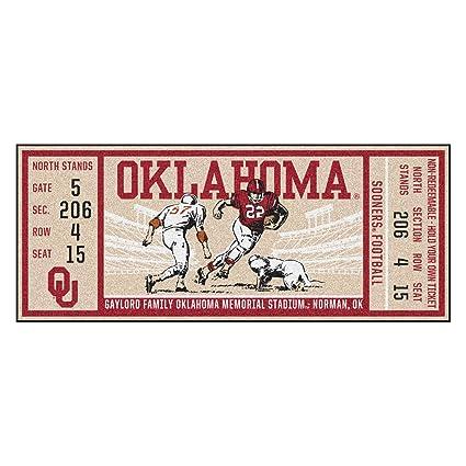 Oklahoma Sooners NCAA Home Field Indoor Area Rug