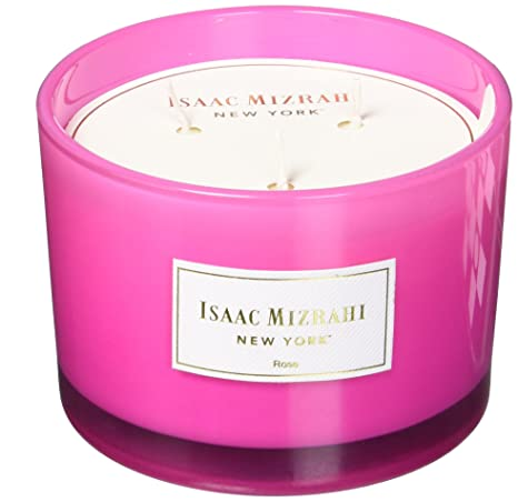 Amazon com: The Jay Companies Rose Scented 3 Wick Wax Candle