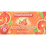 Pompadour Infusione per Bevande Calde, Arancia Rossa - 20 Filtri