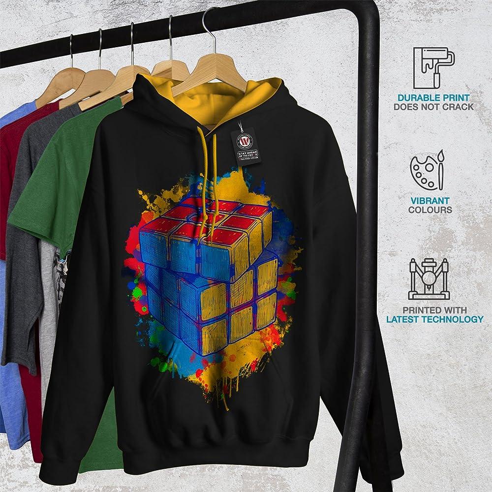 wellcoda Hippie Triangle Funny Mens Sweatshirt So Casual Jumper
