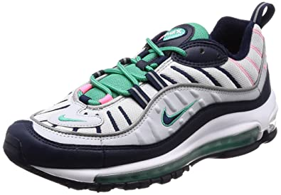 Amazon.com  NIKE Mens AIR MAX 98 Shoe Pure PlatinumObsidianG