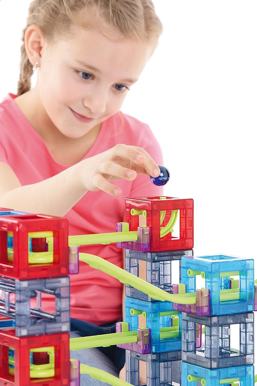 Qvolution Kugelbahn – Basic set 22   Kugelbahn aus Kunststoff mit starken Magneten B00TTRS6JC Bau- & Konstruktionsspielzeug Am wirtschaftlichsten | Hochwertige Produkte