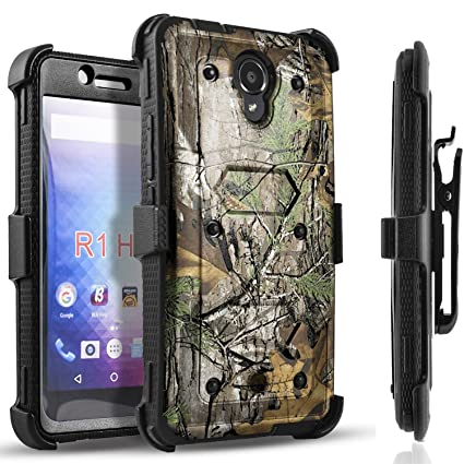 info for 618ae c458a Blu R1 HD Case, [SUPER GUARD] Dual Layer Hybrid Protective Cover With  [Built-in Screen Protector] Holster Locking Belt Clip +Circle(TM) Stylus  Touch ...