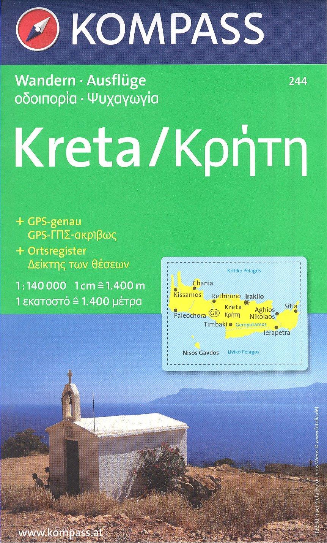 Carte Topographique Crete.Amazon Fr Crete Grece 1 140 000 Carte De Randonnee