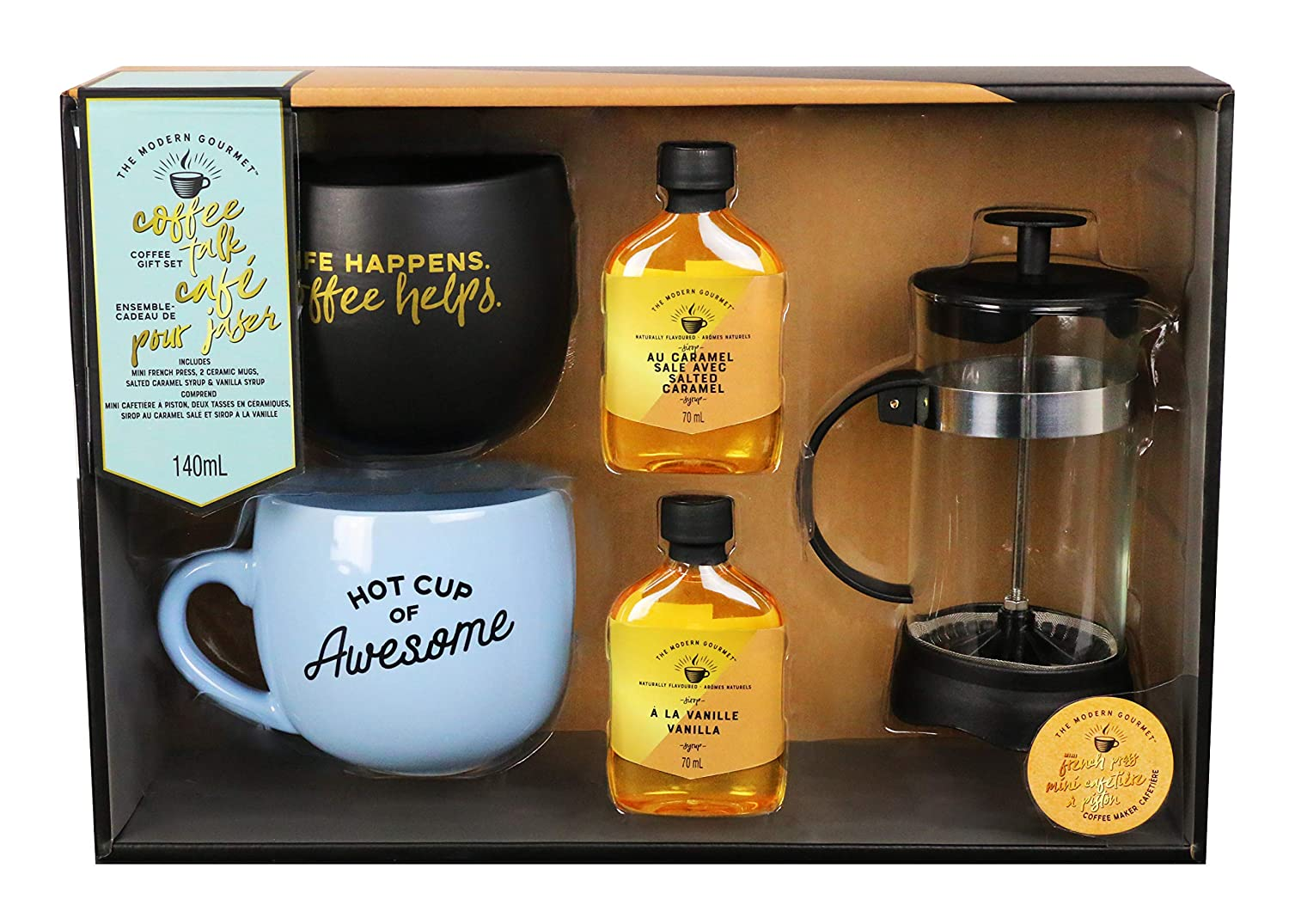 thoughtfully gift coffee talk gift set