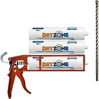 Kit de Impermeabilización Dryzone: 3 x Crema Contra