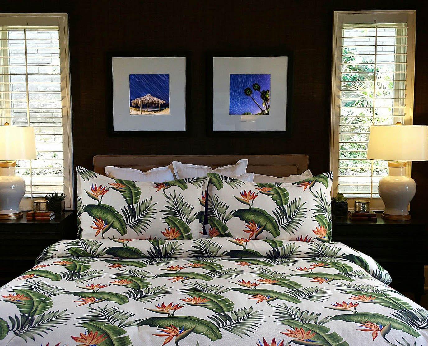 Hibiscus Bedding Hot Pink Hibiscus Queen Full Comforter W Two