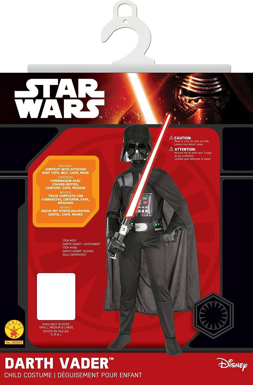 Amazon.com Rubieu0027s Star Wars Childu0027s Darth Vader Costume Medium Black Medium Toys u0026 Games  sc 1 st  Amazon.com & Amazon.com: Rubieu0027s Star Wars Childu0027s Darth Vader Costume Medium ...