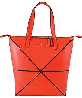 Damen Tote-Tasche rot rot Cross