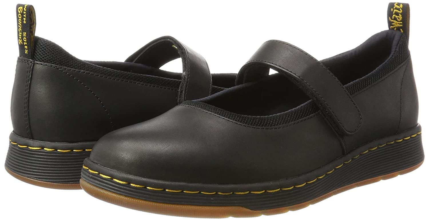 Askins Black Temperley+Sports Spacer Mes, Mary Janes Femme, Noir (Black), 36 EUDr. Martens