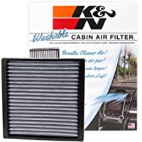 $33 » K&N VF2005 Washable & Reusable Cabin Air Filter Cleans and Freshens Incoming Air for your…