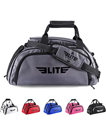 f8622f4ec8ef Elite Sports Warrior Boxing MMA BJJ Gear Gym Duffel Backpack Bag with Shoe  Compartment