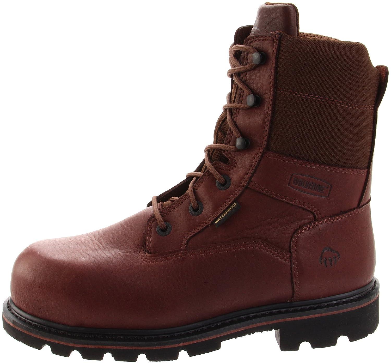 bbce9f854a7 Wolverine Men's Novack 8 Inch Comp Toe Boot