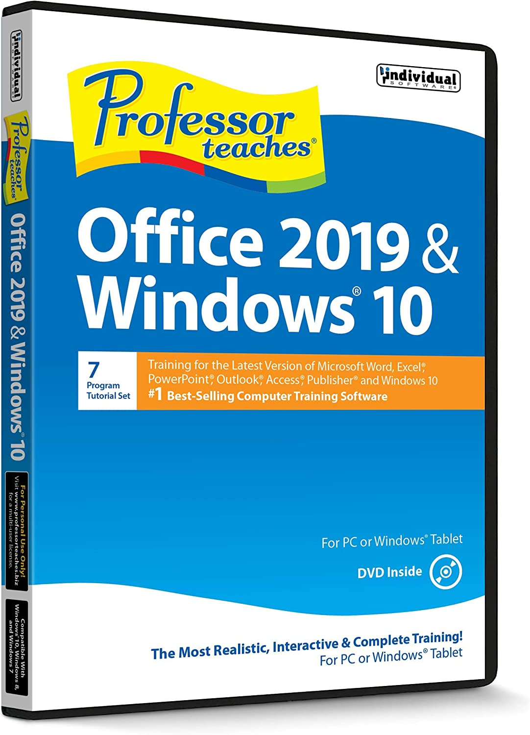 Professor Teaches Office 2019 & Windows 10