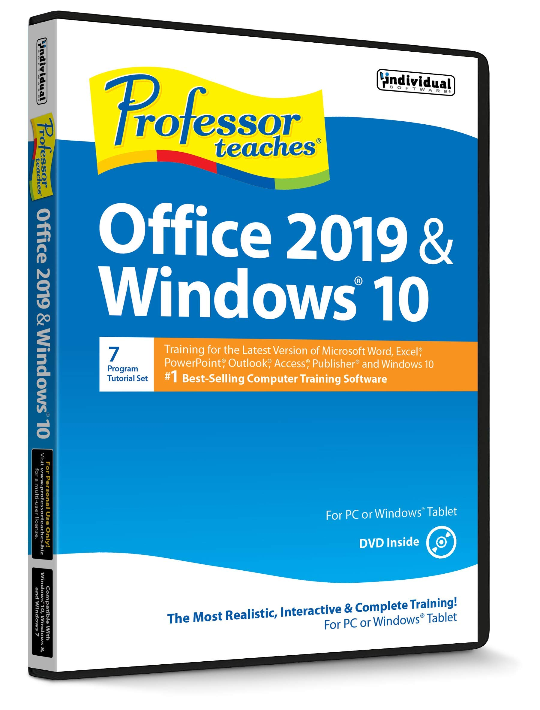 Professor Teaches Office 2019 & Windows 10 by Professor Teaches