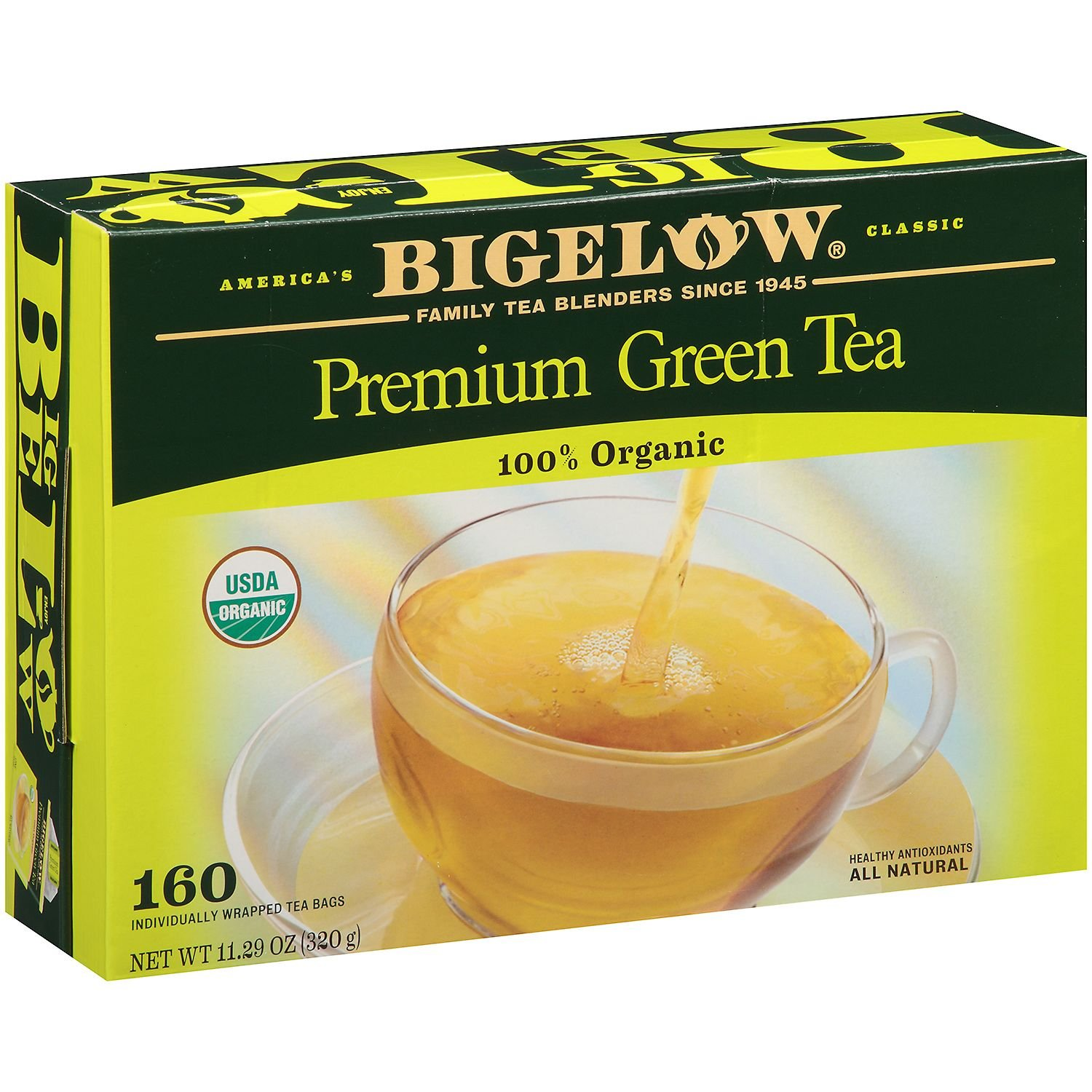 Bigelow Premium Organic Green Tea - 160 ct.